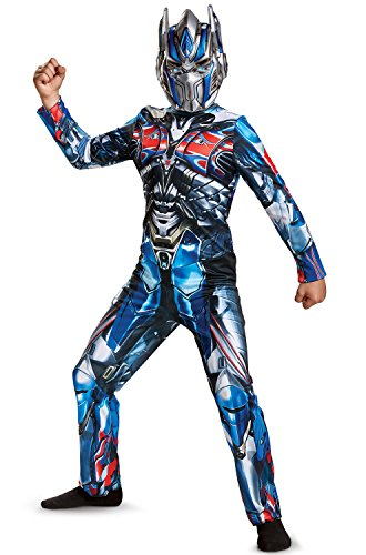 Disguise Optimus Prime Movie Classic Costume, Blue, Large (10-12) ()
