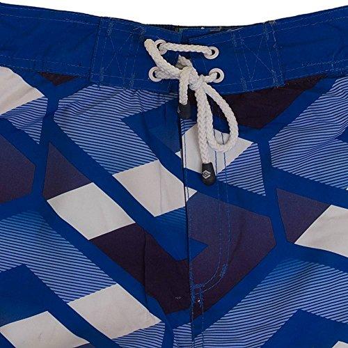 Smith & Jones Latitude Boardshort Swimshorts & Flip Flops Bundle Set, Größe:XL;Farbe:navy