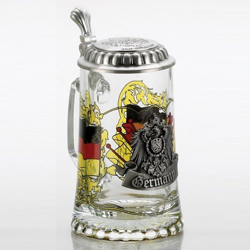 Germany-Glass-Stein-with-pewter-lid
