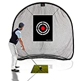 Galileo Golf Net Golf Hitting Nets for Backyard Practice Portable Driving Range Golf Cage Indoor Golf Net Training Aids with Target 7'x7'x4.5'