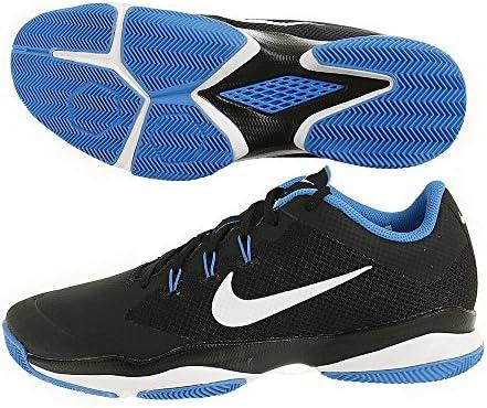 54e7c6f157598 Nike Men s Air Zoom Ultra Black White-Photo Blue Tennis Shoes (8 UK ...