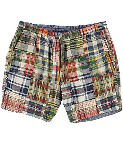 (Ralph Lauren Mens Plaid Casual Walking Shorts, Multicoloured, XX-Large)