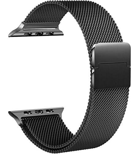 Tirnga for Apple Watch Band 42mm, iWatch Bands 42mm Milanese Loop Men Series 3 2 1