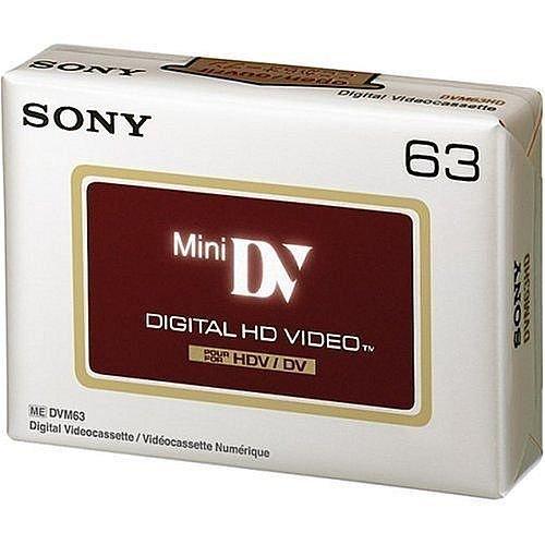 SONY Mini DV HD HI-DEFINITION 63 Minute by Sony