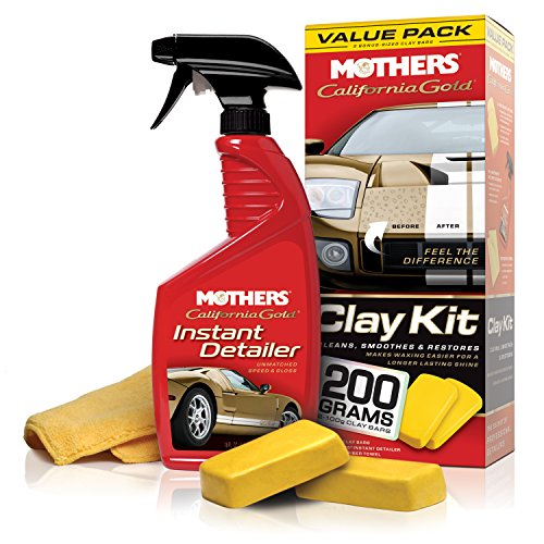 Mothers 07240 California Gold Clay Bar - Chrome Paint Instant