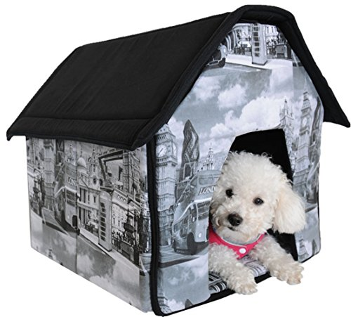 1 Set Pre-eminent Popular Indoor Pet House Collapsible Couch Dog Tent Cat Furniture Style - London Shop Tiffany