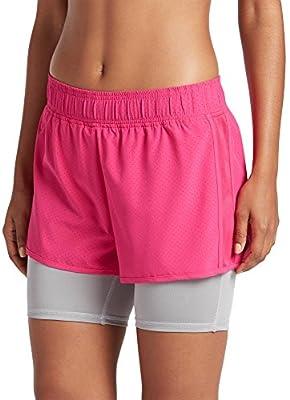 Jockey Women's Activewear Double Layer Short