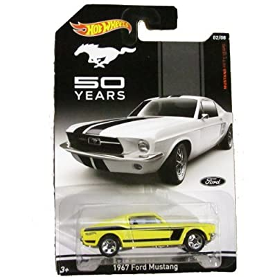 Hot Wheels - Mustang Fifty Years - 02/08 - 1967 Ford Mustang: Toys & Games
