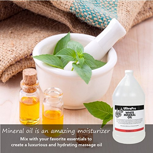 Food Grade Mineral Oil, 1 Gallon (128oz), for Cutting Boards and Butcher Blocks, Stainless Steel and More, NSF Approved by UltraSource (Image #5)