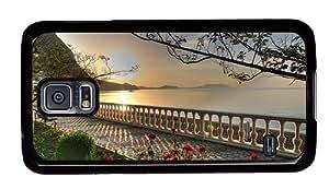 Hipster fun Samsung Galaxy S5 Case Garden at Lake PC Black for Samsung S5