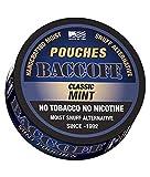 tobacco alternative pouches - BaccOff, Classic Mint Pouches, Premium Tobacco Free, Nicotine Free Snuff Alternative (5 Cans)