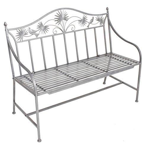 hochwertige metall gartenbank aus pulverbeschichtetem eisen aus unserer neuen serie. Black Bedroom Furniture Sets. Home Design Ideas
