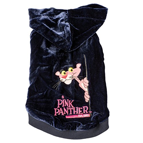 Pink Panther Samt Pet Shirt mit Kapuze
