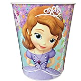 Princess Sofia Bedroom Bathroom Garbage Can Waste Bin ...