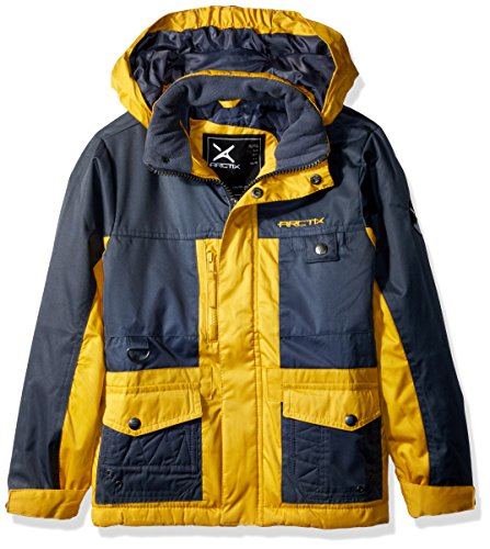 Arctix Boys Edge Insulated Winter Jacket, Medium, Sunshine