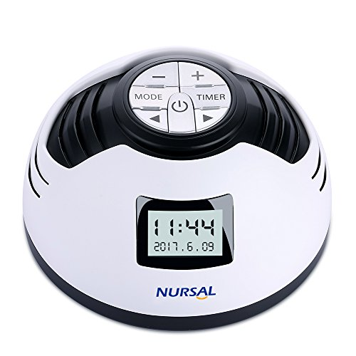 Better Sleep White Noise Sound Machine For Adults And: NURSAL White Noise Machine, Sleep Sound Machine Alarm