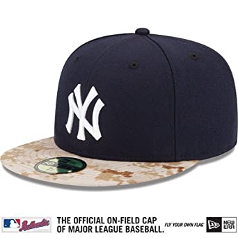 83109f5846b10e New York Yankees Men's New Era MLB Memorial Day Stars and Stripes 59FIFTY Hat  Cap -