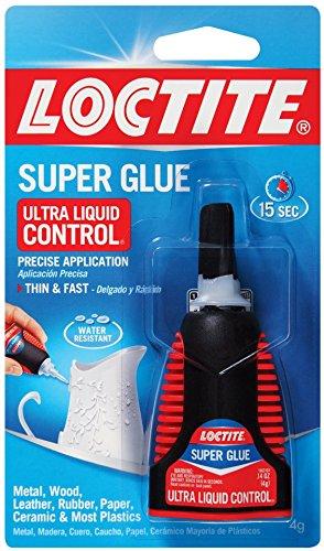 Loctite 1647358-6 Ultra Liquid Control Super Glue, 4g Bottles (Case of 6)