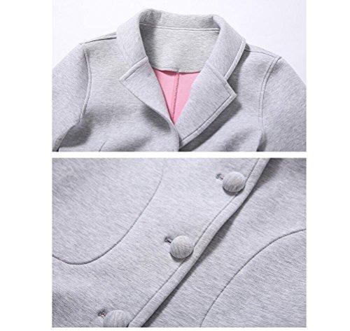 GJX Services à domicile Mesdames en automne et en hiver le nouveau foyer espace couche de coton , gray , m