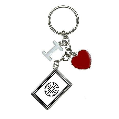 Amazon.com: Canterbury Cruz I corazón Love llavero: Office ...
