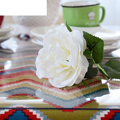 Pvc table cloth/[soft glass],transparent,[waterproof],oil-proof table cloth/plastic table mat/transparent, crystal plate mat-A 70x140cm(28x55inch) by KDHKDNVNIDLL