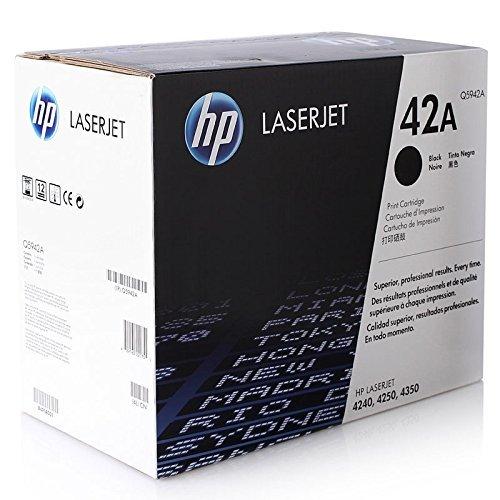 Price comparison product image HP 42A (Q5942A) Black Original LaserJet Toner Cartridge