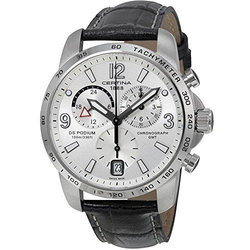 Certina - Men's Watch - Certina Ds Podium Big Size Chrono Gmt - Ref. C001.639.16.037.00