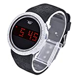 Touch Screen Digital Sports Watches Silicone Band WR 7373 SBK