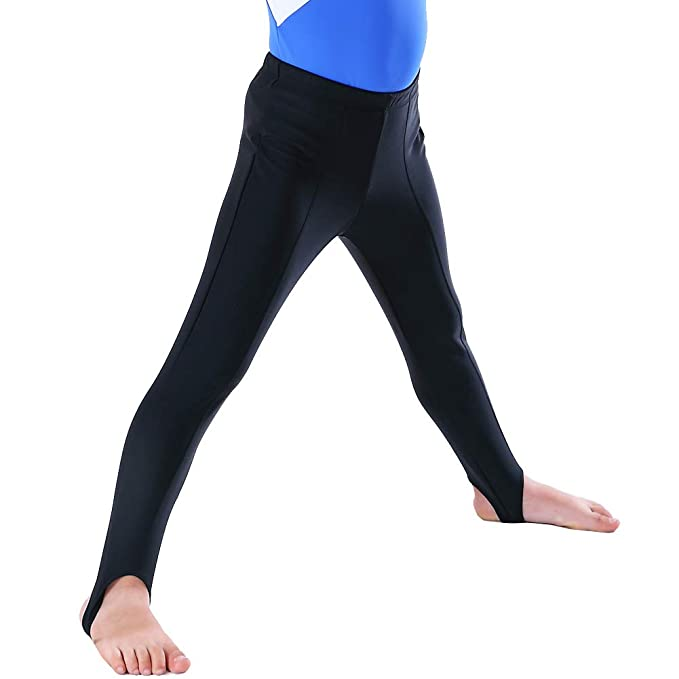 3d11b80b8e791 NEW DANCE Boy's and Men's Gymnastics Pants Youth Ballet Tights Stirrup  Leggings for Yoga Practice Athletic