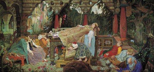 (Artifact Puzzles - Sleeping Princess Wooden Jigsaw Puzzle)