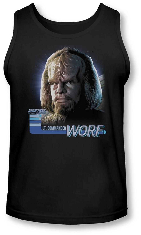 Star Trek - Mens Tng Worf Tank-Top