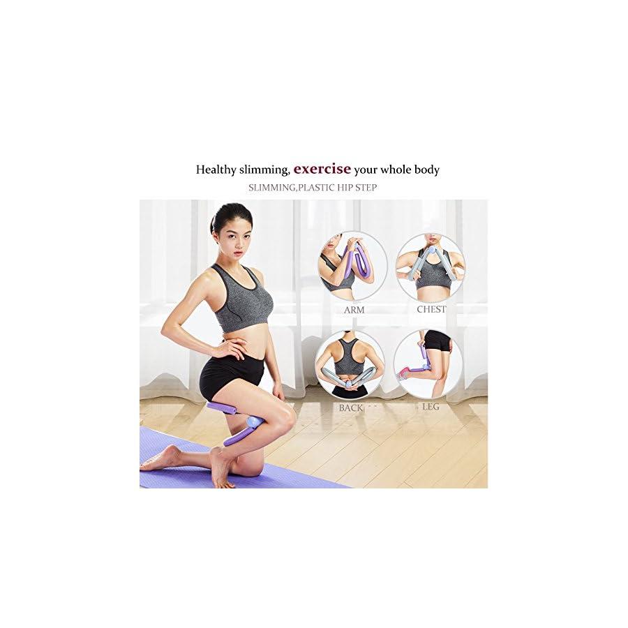Emaks Thigh Master & Butt,Leg,Arm Toner Leg Thigh Trimmer Exerciser Strength Training Machines Foam Home Fitness Sport Multi function Gym Equipment All in One
