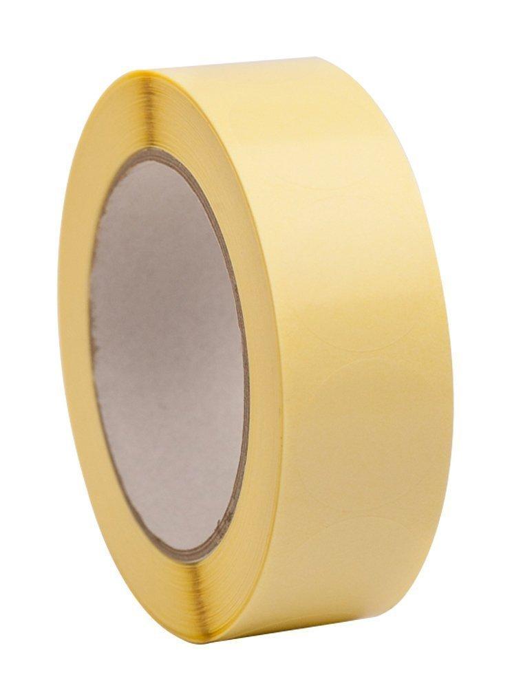 1.000 Etichette Autoadesive Trasparenti Rotonda Tenuta Etichette/Misura 2 cm di diametro / 20 Millimetri Rotolo di 1, 000pcs. - Perfetti Per Pacchetti Regalo ENVO