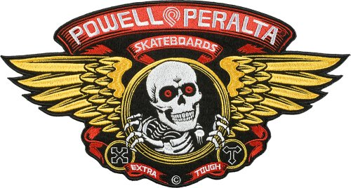 "Powell-Peralta ""Winged Ripper"" extra large patch"