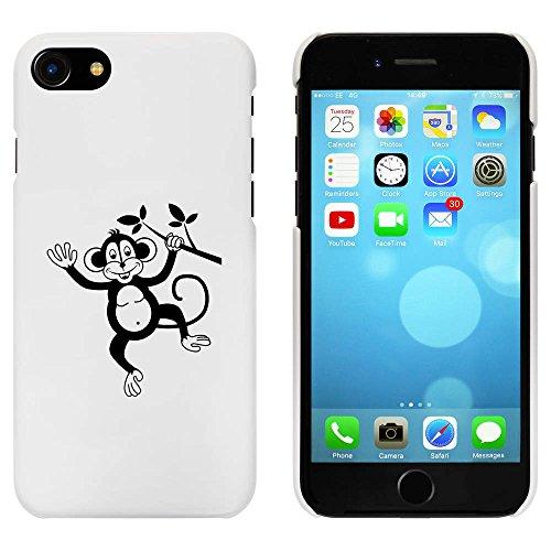 Blanc 'Singe Effronté' étui / housse pour iPhone 7 (MC00066170)