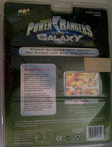 Amazon.com: Saman de Power Rangers Perdido Galaxy Llavero ...