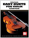 Easy Duets for Violin, Costel Puscoiu, 078665595X