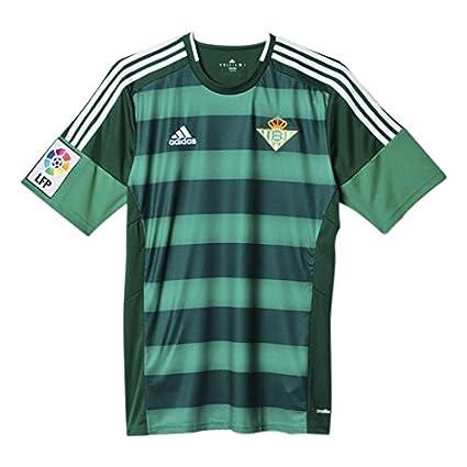 2ª Equipación Real Betis Balompié 2015/2016 - Camiseta oficial adidas, color verde /
