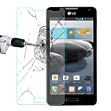 LG Optimus F6 D500 Glass Screen Protector, Abestbox 9H HD Premium Tempered Glass for LG Optimus F6 D500, [0.26mm Thickness], 99.9% Light Transmission, Most Durable [Lifetime Warranty]