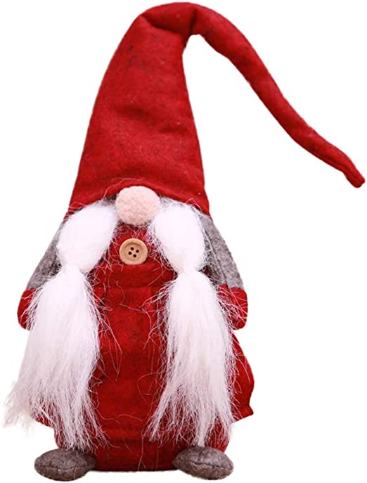 CUTE OLD MAN CHRISTMAS GNOME SANTA CLAUS PLUSH TOY ELF XMAS KIDS GIFT DECOR FIRM