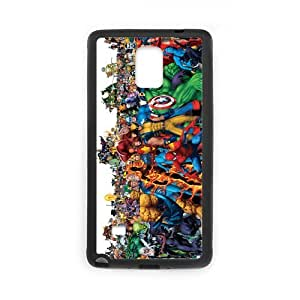 Fayruz- Personalized Avengers Age Of Ultron 2 Protective Hard Rubber Phone Case for Samsung Galaxy Note 4 Note4 Cover I-N4O213