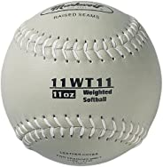 Markwort Color Coded Weighted 11-Inch Softball (11-Ounce, Grey)