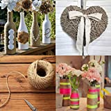 ruiycltd New Year's Gift Jute Hessian String Roll Heavy Twine Twisted Rope String Events Party Supplies Crafts...