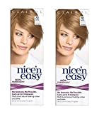 Clairol Nice N' Easy Hair Color #70, Beige Blonde (Pack of 2) Uk Loving Care + FREE Old Spice Deadlock Spiking Glue, Travel Size.84 Oz