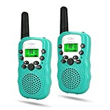 TOPTOY Toys for 5 Year Old Boy, Walkie Talkies for Kids Toys for 3-12 Year Old Boys Toys for 3-12 Year Old Girls Gifts for 3-12 Year Old Girls TTUSTTD01