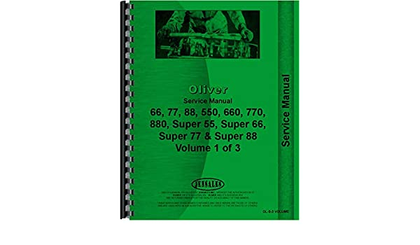 Amazon.com: Oliver Super 55 Tractor Service Manual: Home ... on oliver tractor, oliver ignition diagram, oliver parts diagram,