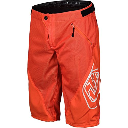 (Troy Lee Designs Sprint Boy's BMX Bicycle Shorts - Orange / 28)