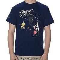 Ripple Junction Men's it's Always Sunny in Philadelphia Adult Unisex the Nightman Play Heavy Weight 100% Cotton Crew T…