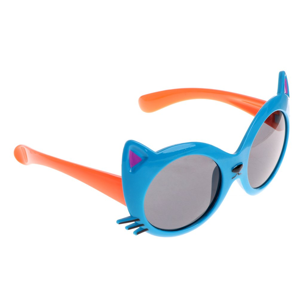 Bettal Kids Cat Design UV Protection Sunglasses for Child Age 4-12