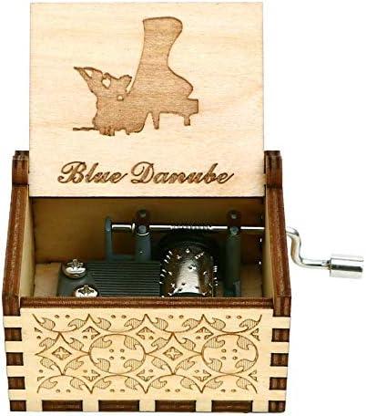 N/X Manivela de Madera Juego de Tronos Caja Musical Juego de Trono Star Wars Davy Jones The Beast Beauty Music Box Theme Music: Amazon.es: Hogar